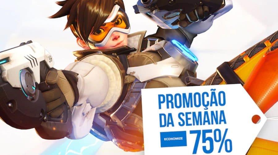 """Overwatch está com 75% de desconto na """"Promoção da Semana"""" da PS Store"""
