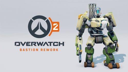 Blizzard anuncia mudanças para Bastion e Sombra em Overwatch 2