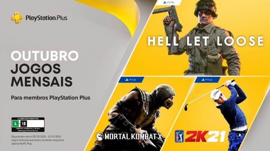 [Oficial] Sony revela PS Plus de outubro de 2021