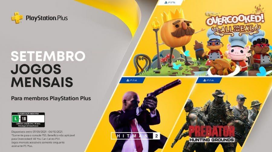 [Oficial] Sony revela PS Plus de setembro de 2021