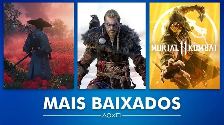 Sony revela os jogos mais baixados de agosto na PS Store