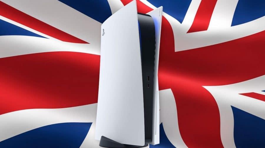 PS5 chega a 1 milhão de unidades vendidas no Reino Unido em tempo recorde