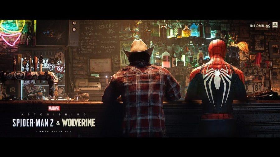 Designer imagina multiverso com Wolverine e personagens da PlayStation
