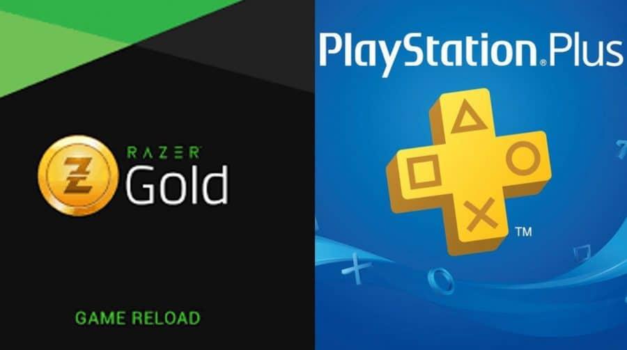 Razer Gold permite compra de jogos de PlayStation e pagamento do PS Plus