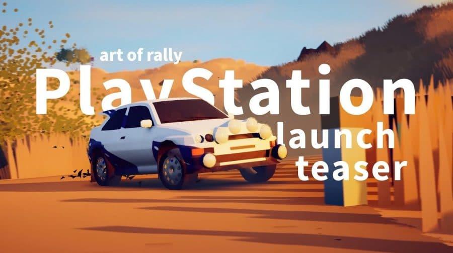 Art of Rally chegará ao PS4 e ao PS5 no dia 6 de outubro