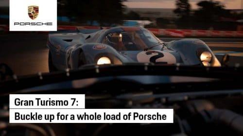 Trailer destaca veículos da Porsche em Gran Turismo 7