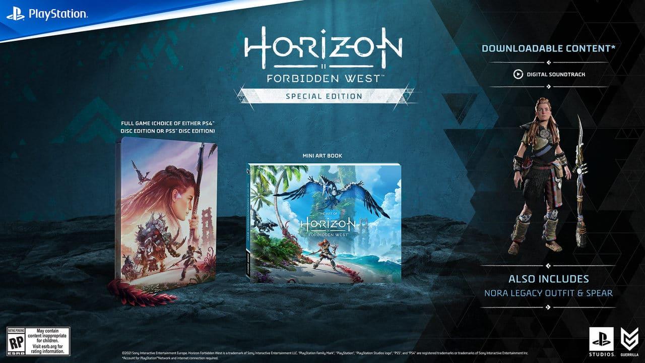Steelbook de Horizon Forbidden West