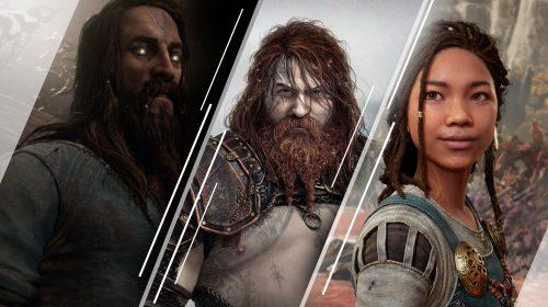 Conheça os principais personagens de God of War Ragnarök