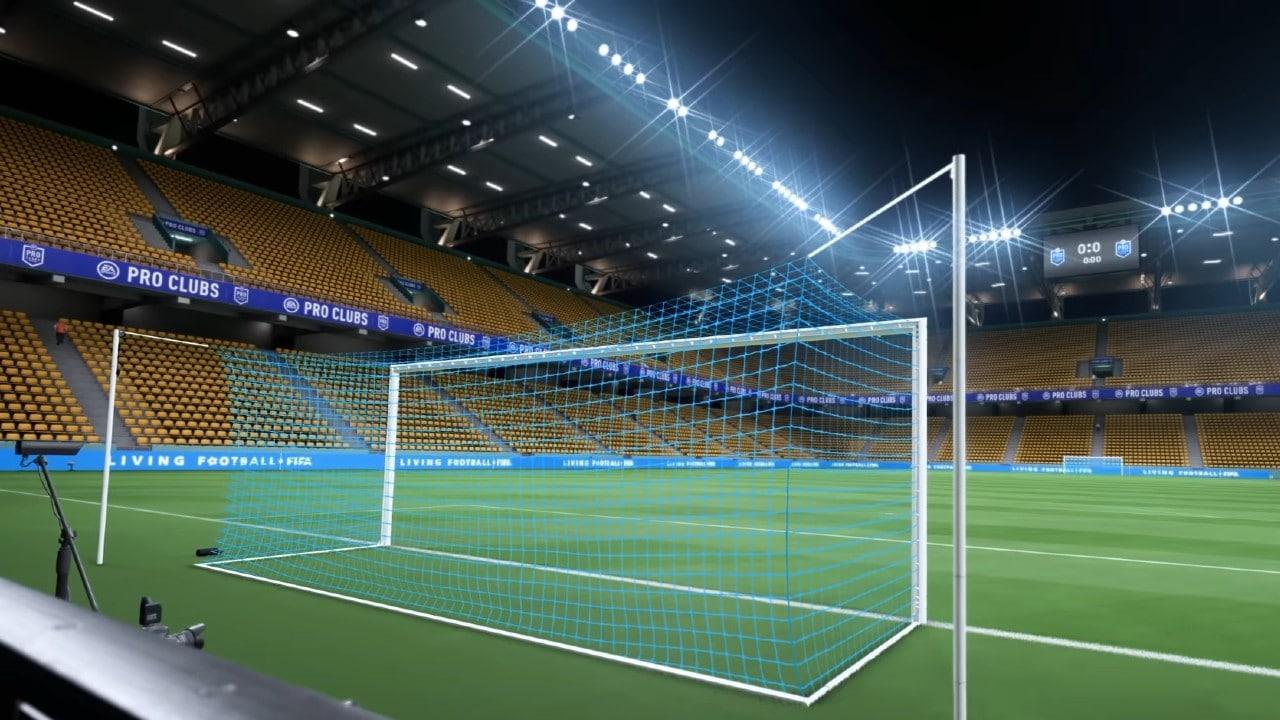 Pro Clubs do FIFA 22 - campo customizado