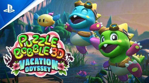 Esse é clássico! Puzzle Bobble 3D chega em outubro ao PS4 e ao PS5