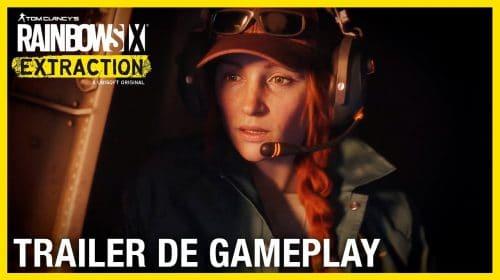Novo trailer de Rainbow Six Extraction mostra