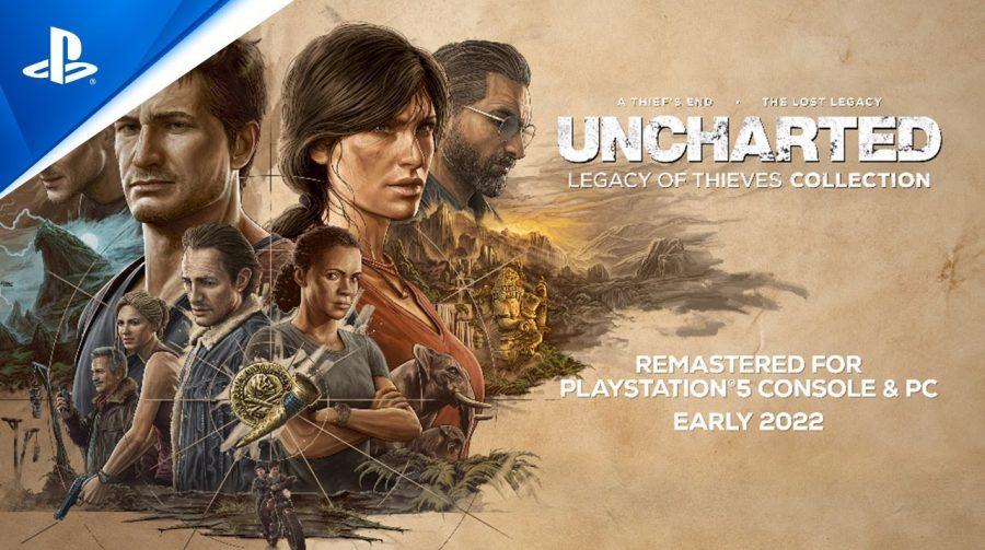 Uncharted: Legacy of Thieves Collection é anunciado para PS5 e PC