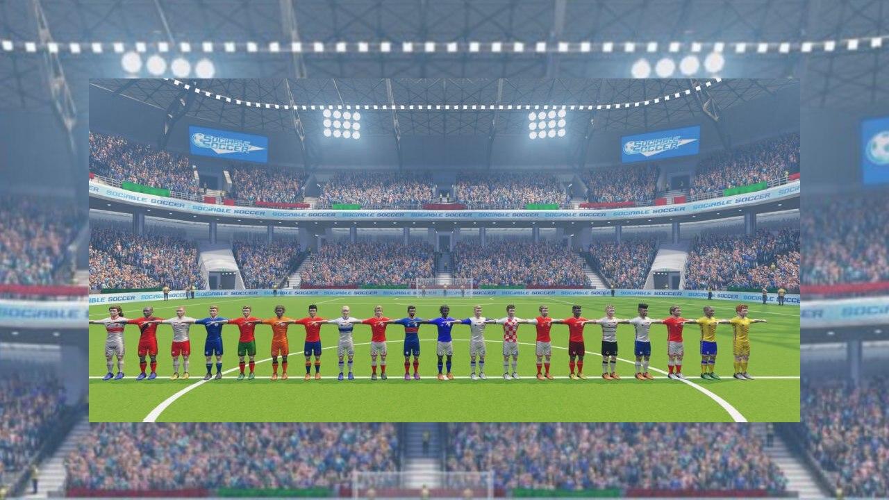 Sociable Soccer no PC e Consoles