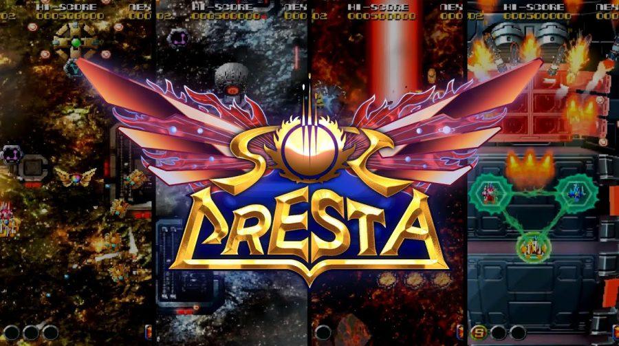 Sol Cresta, shoot 'em up da PlatinumGames, chega em dezembro ao PS4