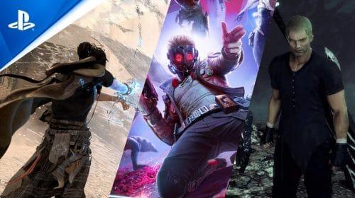 Square Enix exibirá FF: Origin, Forspoken e Guardiões da Galáxia na TGS