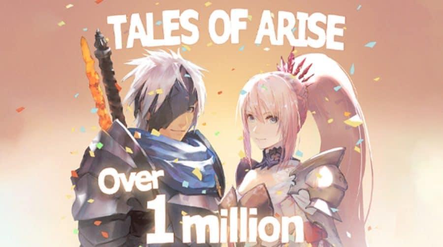 Tales of Arise vendeu mais de 1 milhão de cópias em menos de uma semana de lançamento
