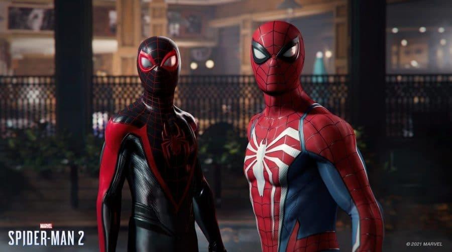 Nada de CGI: trailer de Marvel's Spider-Man 2 foi capturado em tempo real no PS5