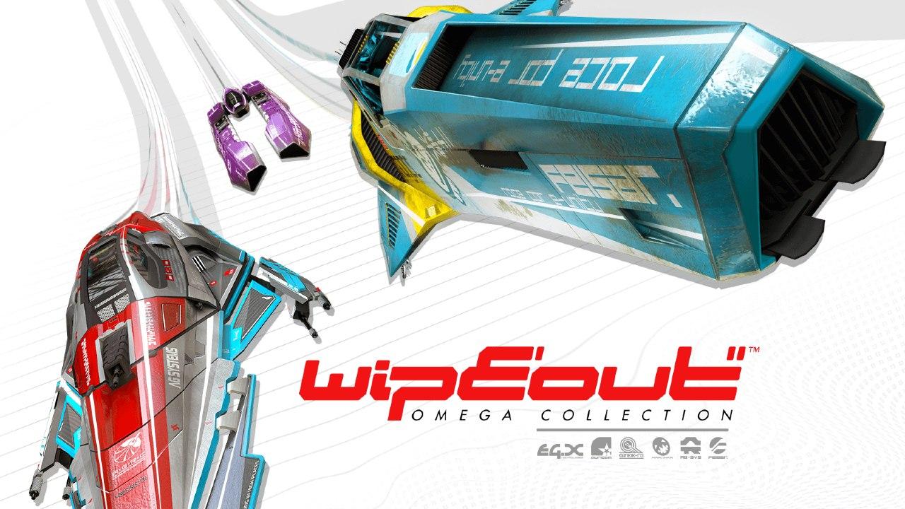 WipEout Omega Collection - os melhores jogos de carro PS4