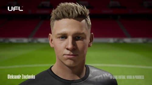 UFL: Zinchenko, do Manchester City, é revelado com gráfico realista