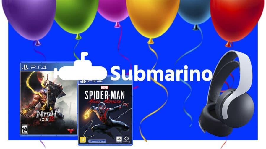 Aniversário do Submarino tem jogos a partir de R$ 20!