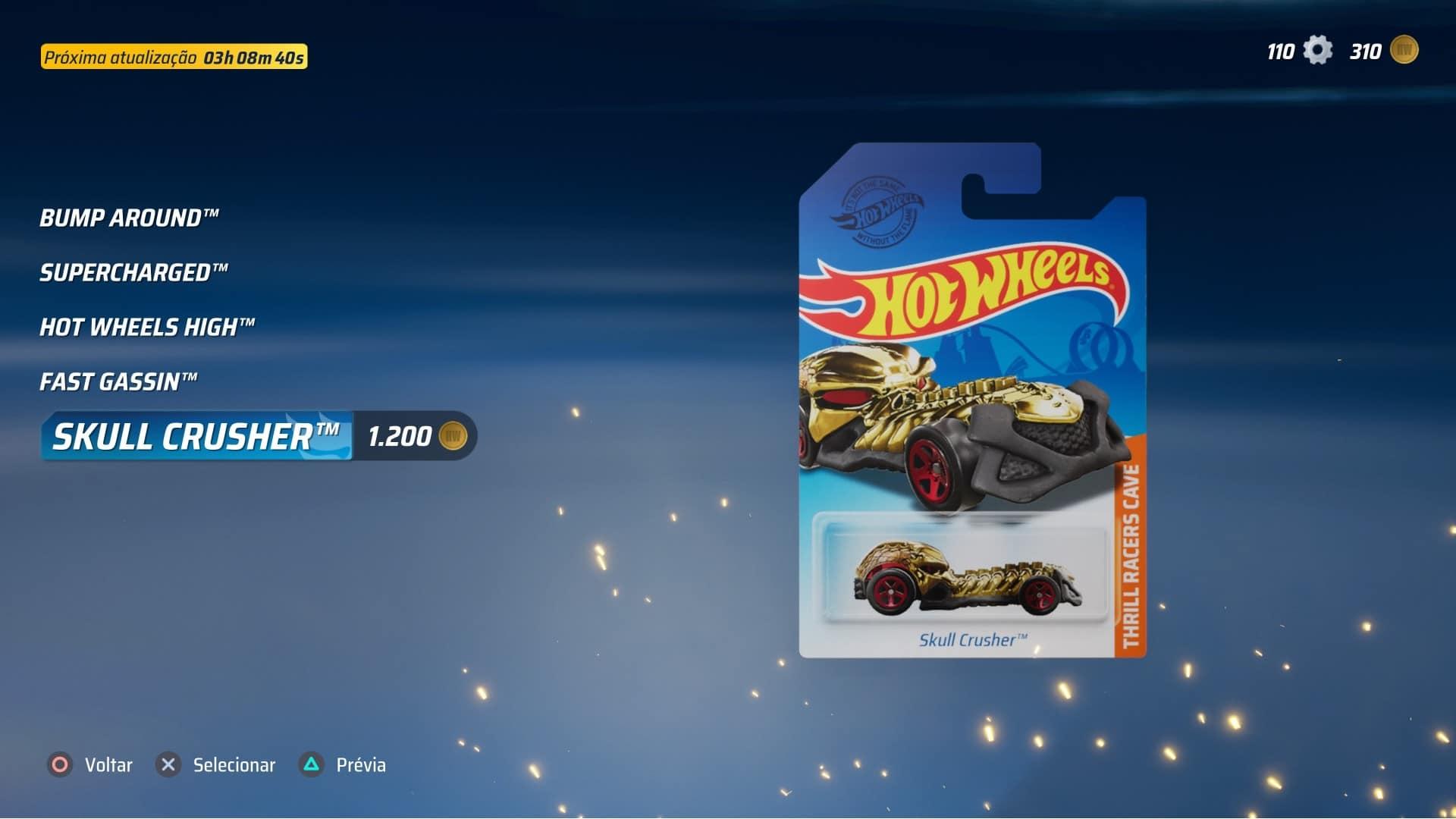 comprar veículo - Hot Wheels: Unleashed