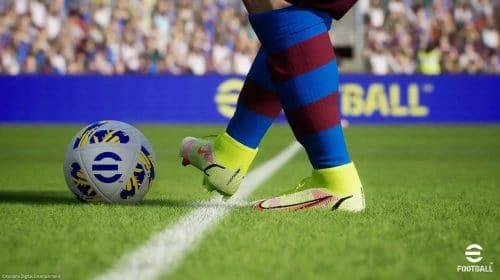 Gameplay de eFootball 2022 aparece nas redes e preocupa fãs pela qualidade