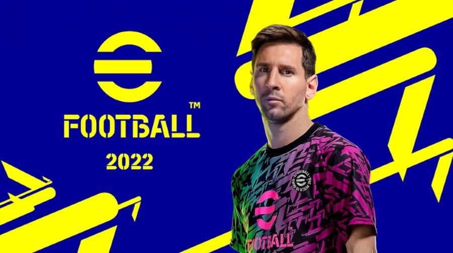 eFootball 2022 para PS4 e PS5 já disponível para download na PS Store