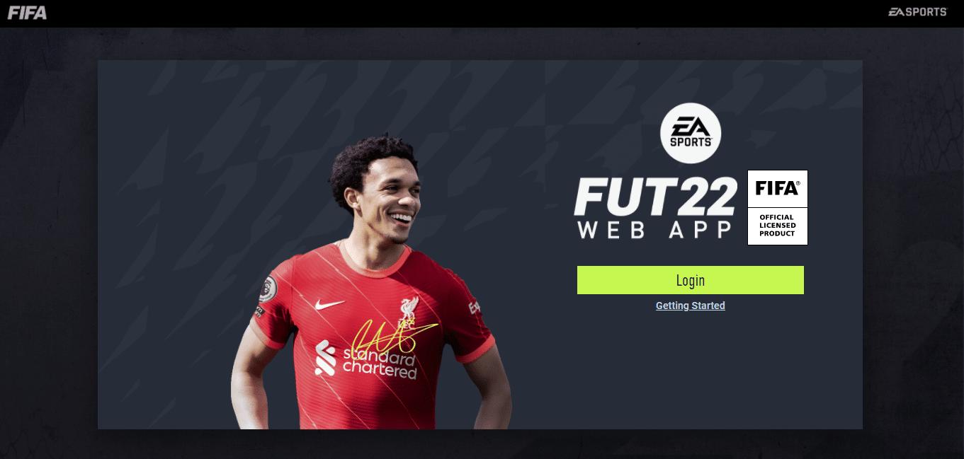 FIFA 22: Web app é fundamental no FUT (Foto: Reprodução/Thiago Barros)