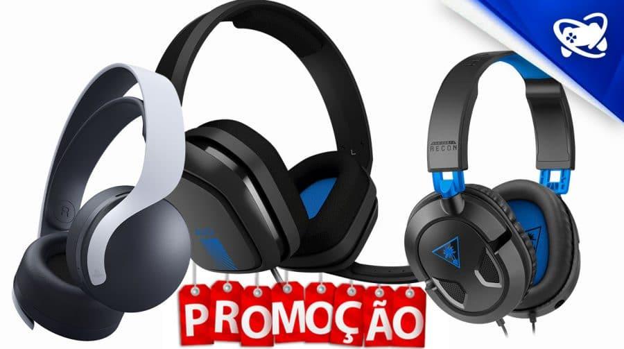 5 promoções de headsets para PS4 e PS5 para aproveitar agora