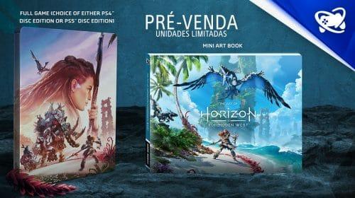 Edição especial de Horizon Forbidden West em pré-venda no Brasil