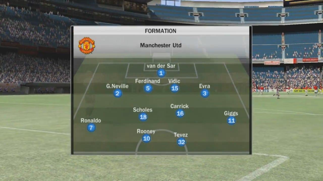 melhores times do FIFA - M Utd