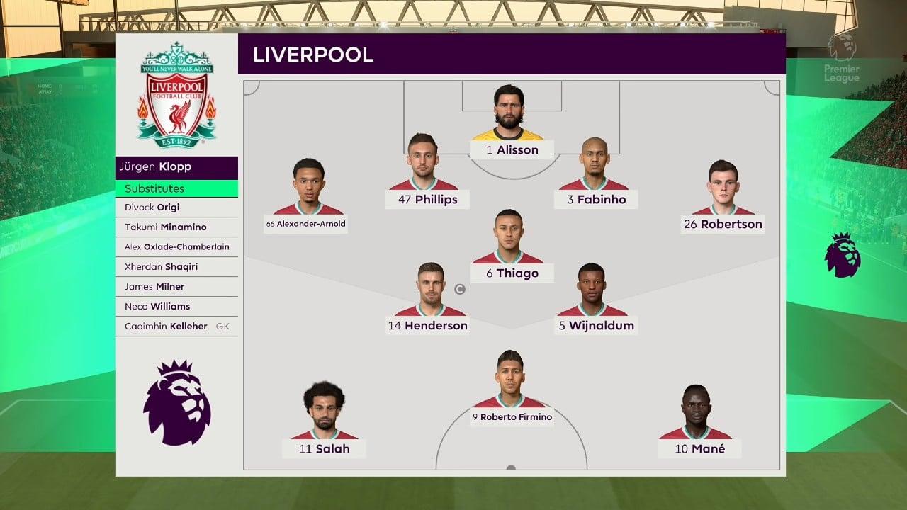 os melhores times do FIFA - Liverpool