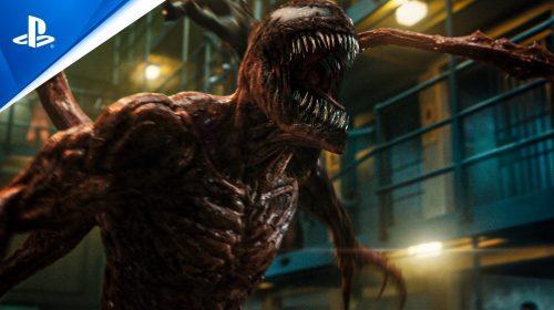 PlayStation publica trailer exclusivo do filme Venom: Tempo De Carnificina