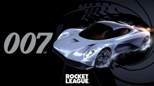 Rocket League: crossover traz novo carro do James Bond ao game