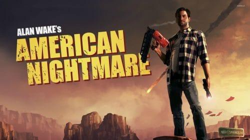 Remedy não planeja lançar remaster de Alan Wake American Nightmare