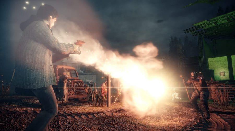 Compare como Alan Wake Remastered está rodando no PS5 e no Xbox Series