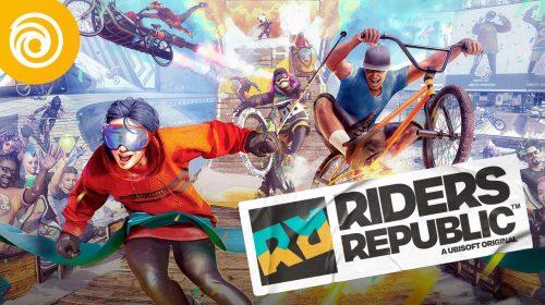 Com conteúdos grátis, 1º ano de Riders Republic terá quatro temporadas