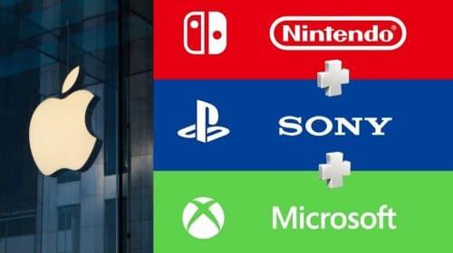 Sem produzir jogos, Apple lucra mais em games que Sony, Microsoft e Nintendo