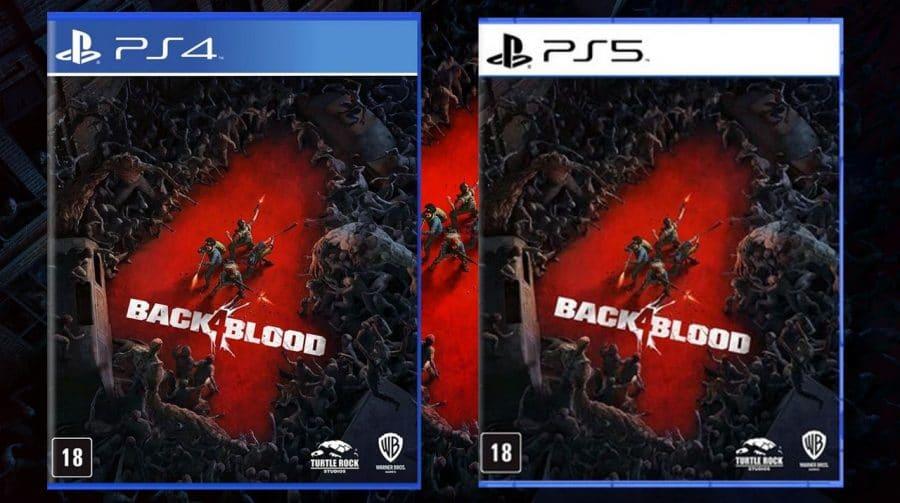 Amazon oferece 10% de desconto na pré-venda da mídia física de Back 4 Blood