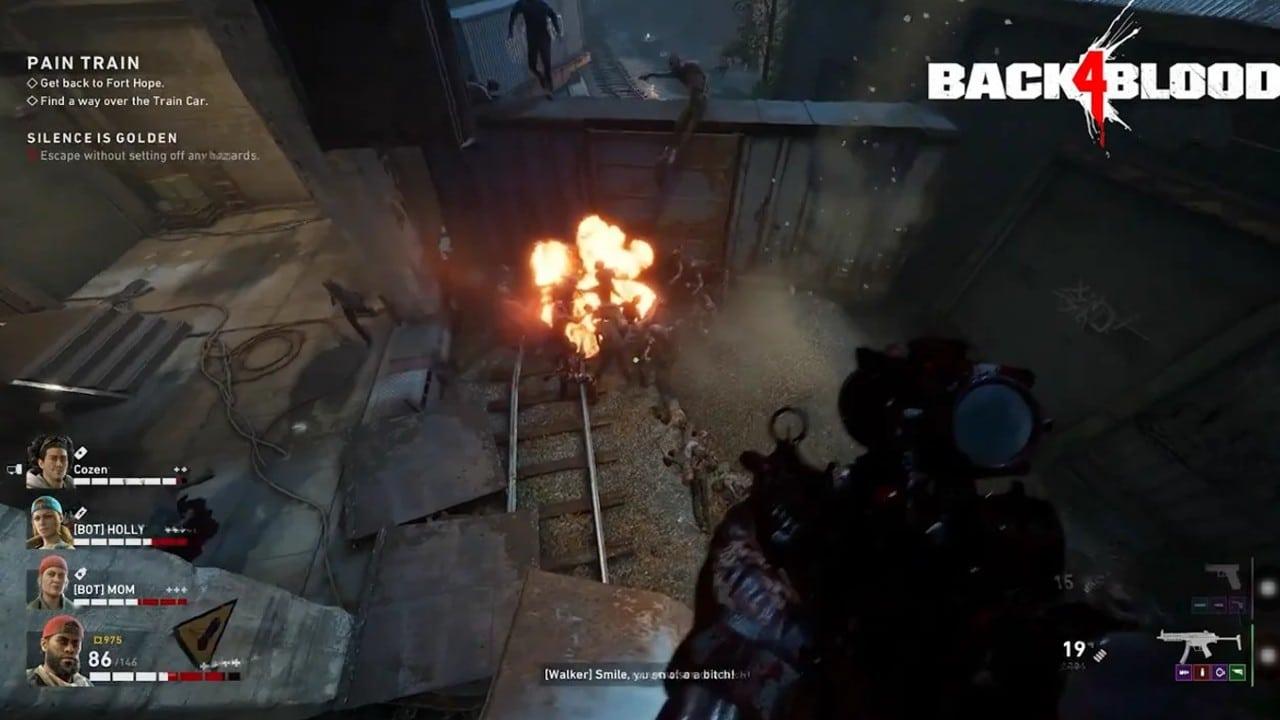 Back 4 Blood - bombas melhores que granadas
