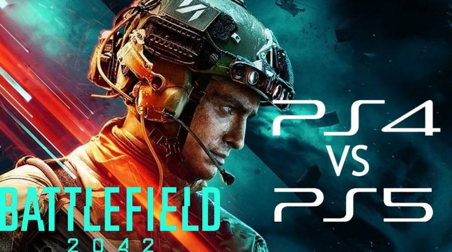 Diferente? Compare os gráficos de Battlefield 2042 no PS4 e no PS5