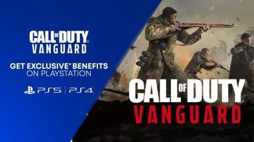 "No PlayStation, Call of Duty: Vanguard terá ""conteúdo exclusivo"""