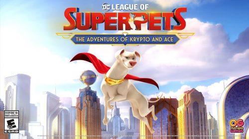 DC League of Superpets: Aventuras de Krypto e Ace chega em 2022 ao PS4