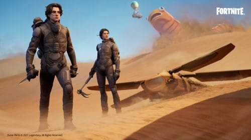 Quer mais crossovers? Skins do filme Duna são confirmadas em Fortnite