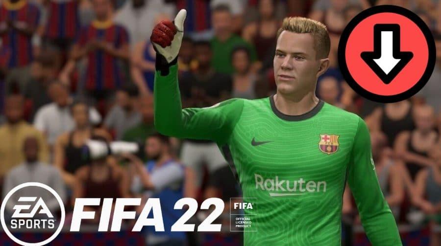 Com nerf nos goleiros, primeira atualização do FIFA 22 está disponível