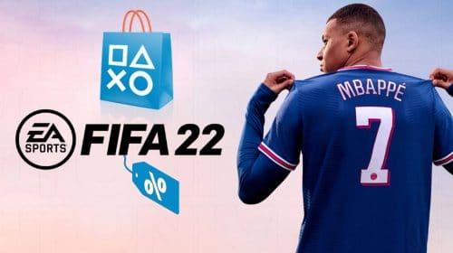 Edição Ultimate de FIFA 22 está com 25% de desconto na PS Store