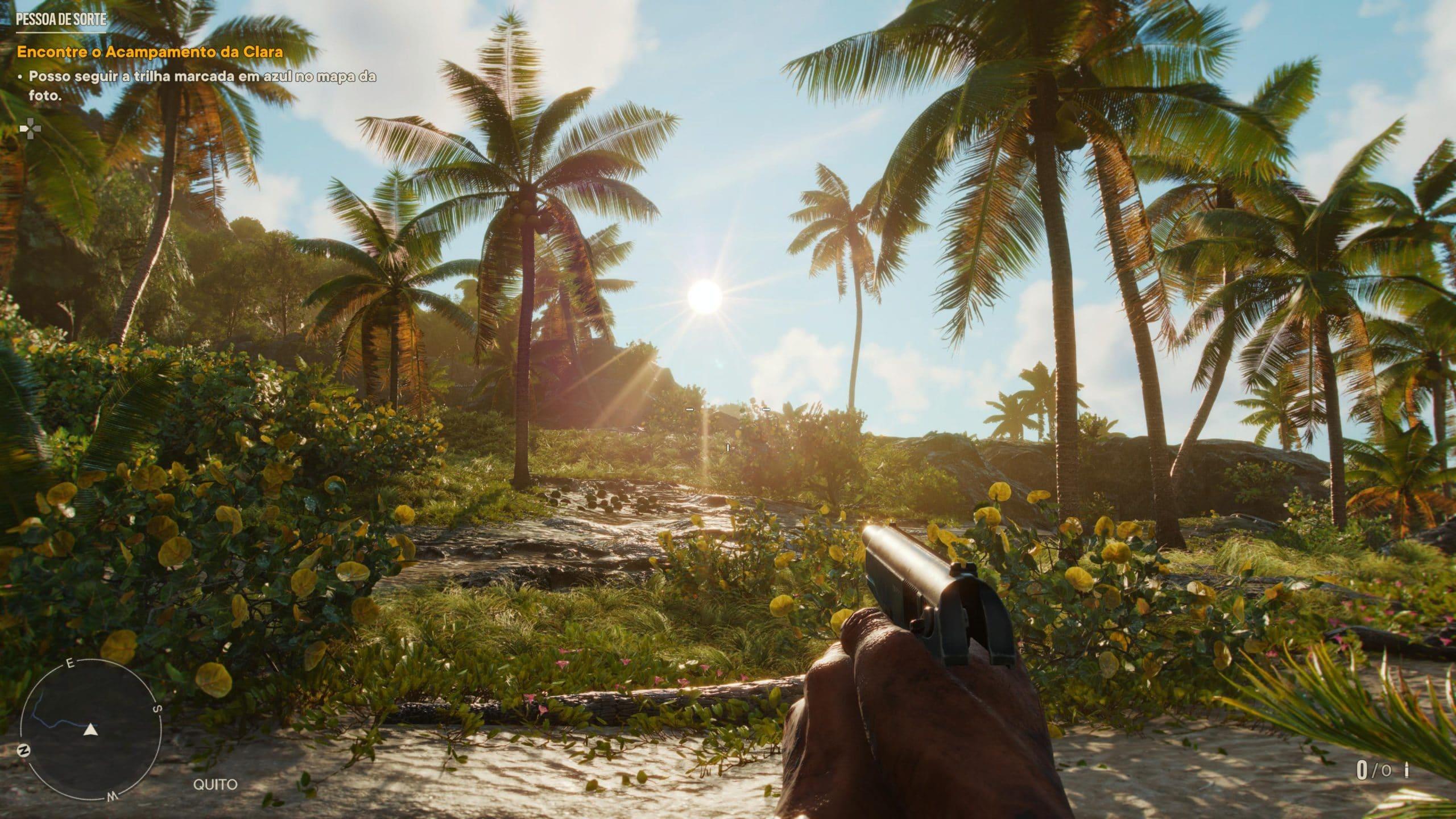 Visual de Far Cry 6 é impressionante (Foto: Reprodução/Thiago Barros)