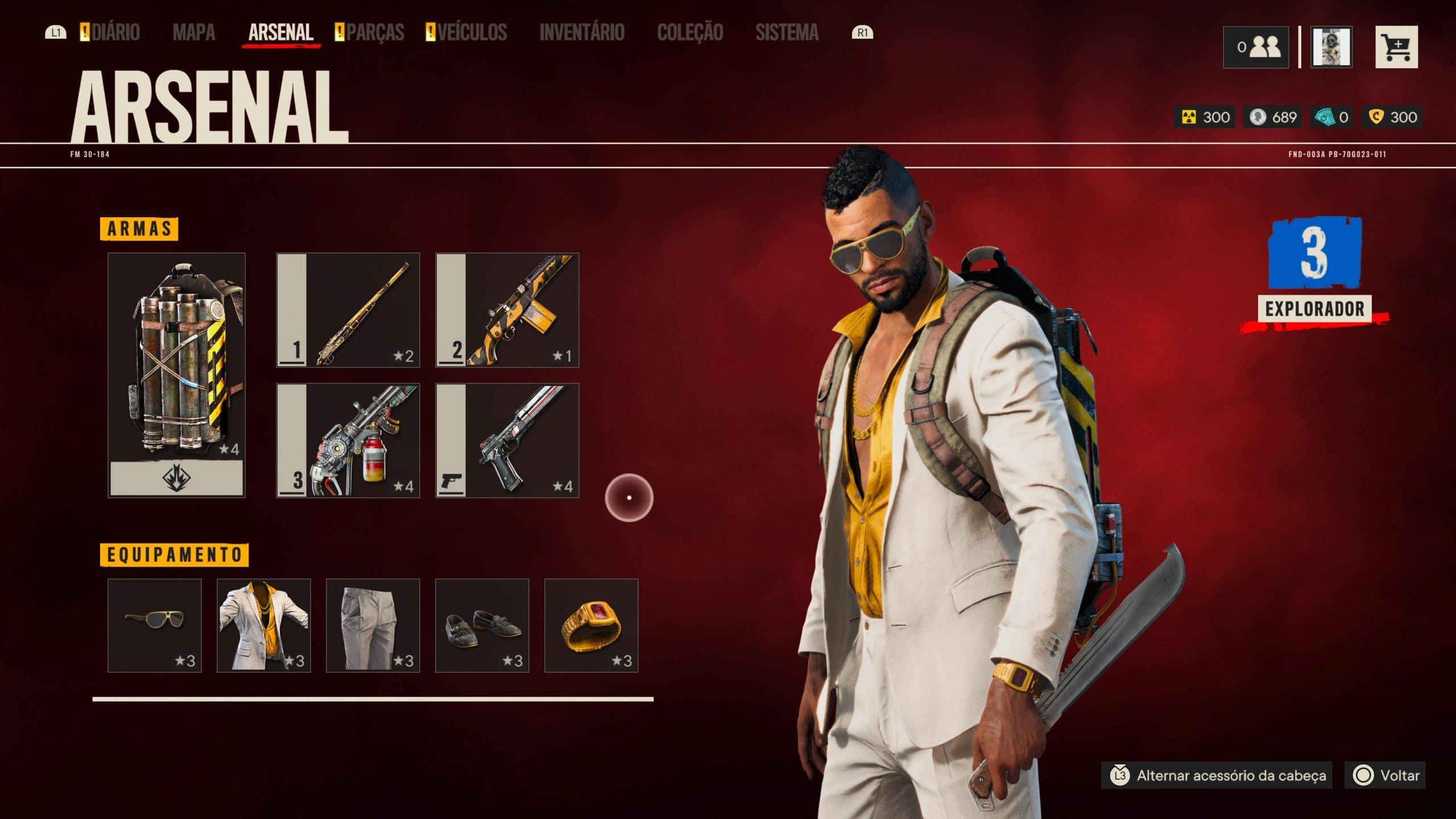Far Cry 6 tem mais elementos de RPG (Foto: Reprodução/Thiago Barros)
