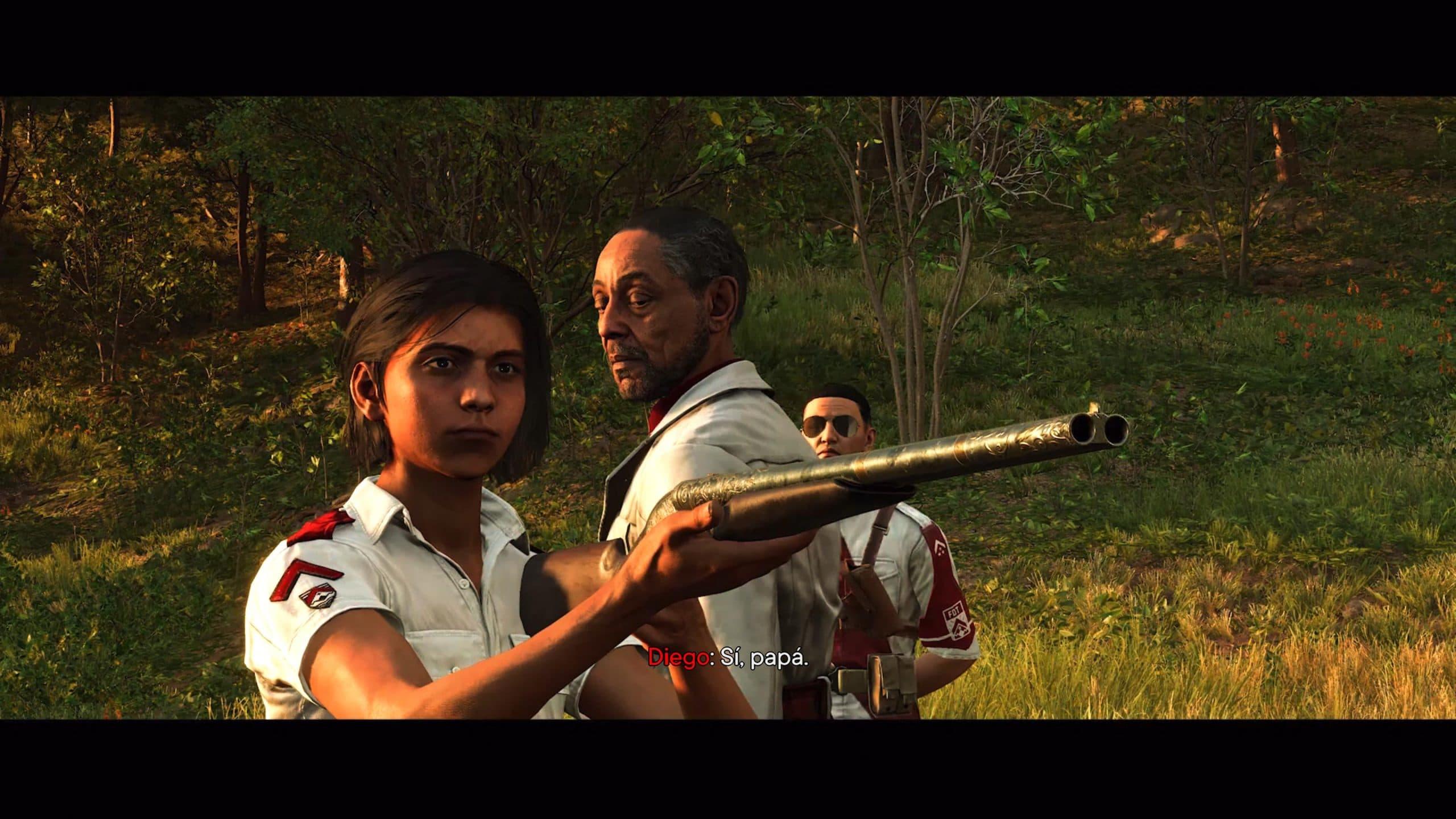 Castillo e Diego brilham em Far Cry 6 (Foto: Reprodução/Thiago Barros)