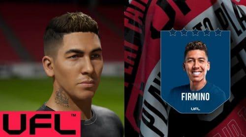 UFL anuncia Firmino como um dos embaixadores e revela visual in-game